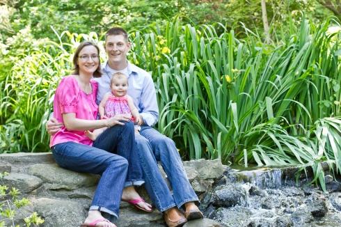 baby & family portraits at appleford estate in villanova, pa