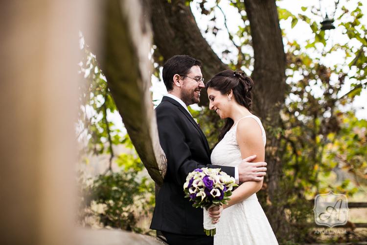 crossed keys autumn outdoor wedding 06