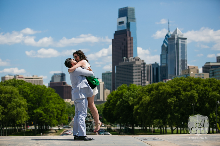 philadelphia art museum surprise engagement proposal 06