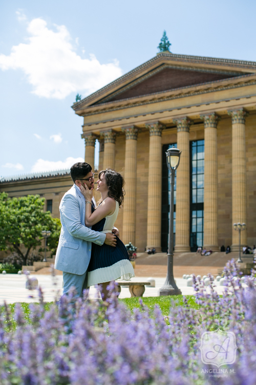 philadelphia art museum surprise engagement proposal 08