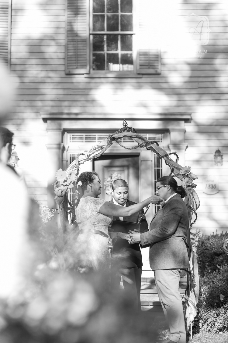 inn at millrace pond autumn rustic wedding 20